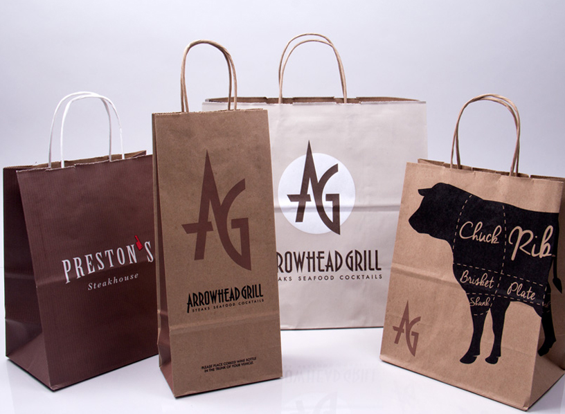 Takeout Paper Bags Printing
